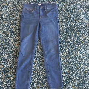 J. Crew stretch medium wash jeans